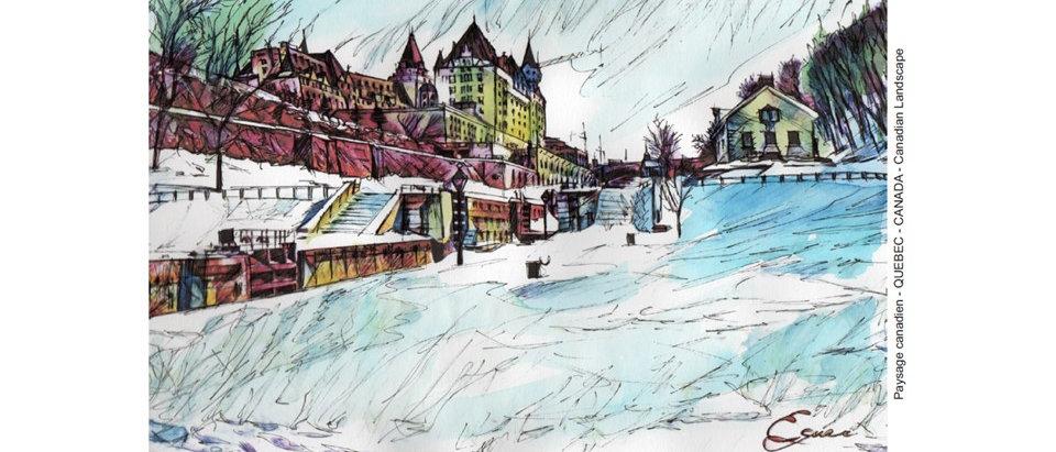 Ville de Québec – Hiver