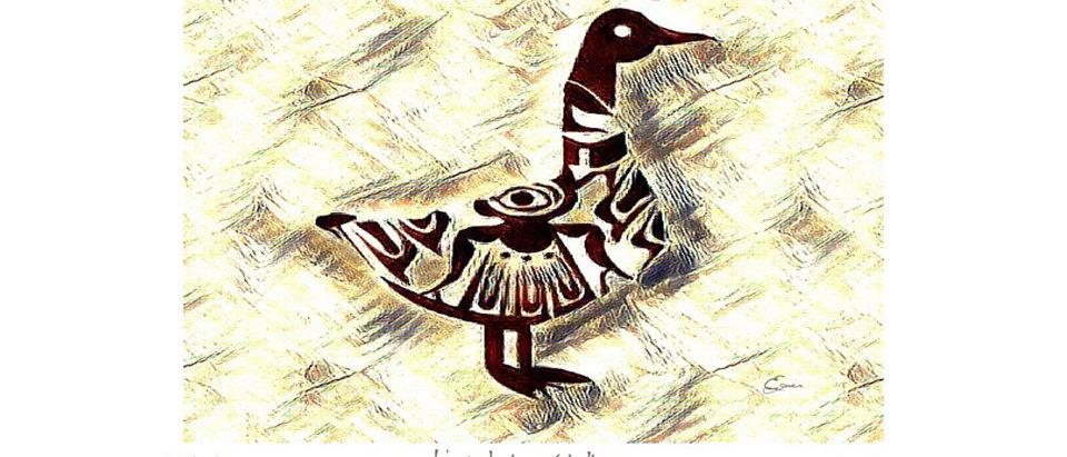 Oie des neiges - Animal totem de naissance amérindien