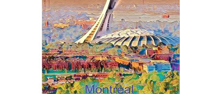 Stade olympique de Montréal - Poster