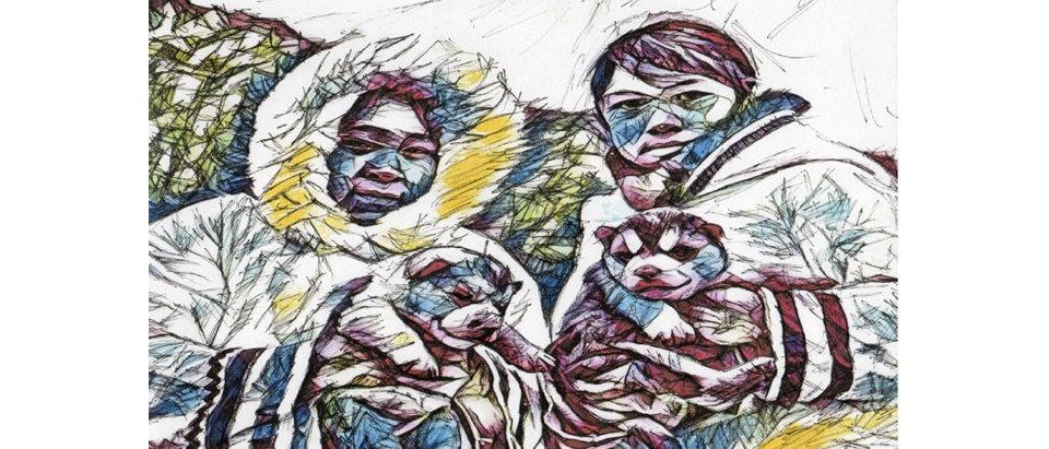 Enfants Inuits
