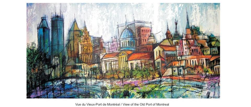 Vieux Montréal - Collage
