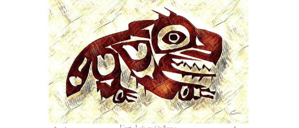 Renard - Animal totem de naissance amérindien