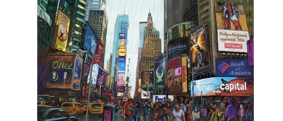Times Square - New York - Poster