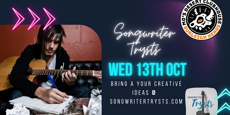 SONGWRITER TRYSTS: Songwriting Night