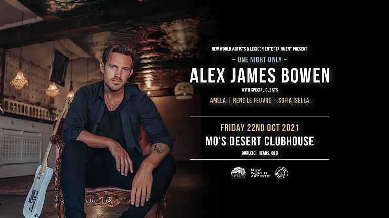 ALEX JAMES BOWEN Live at Mo's