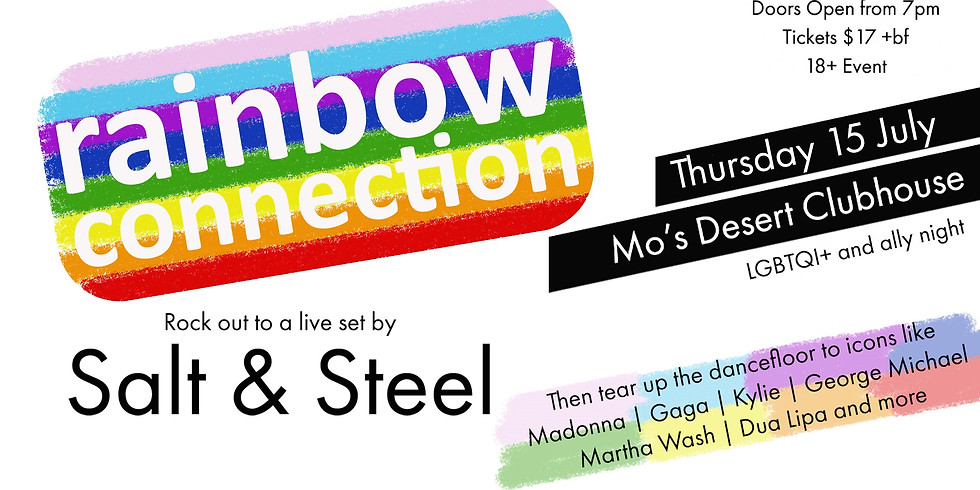 RAINBOW CONNECTION: LGBTQI+ Event
