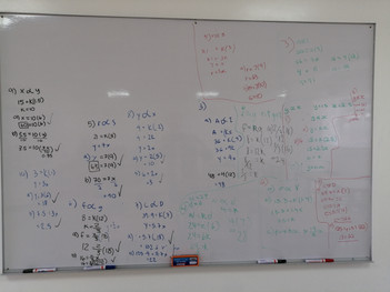 Making use of my Big Whiteboards
