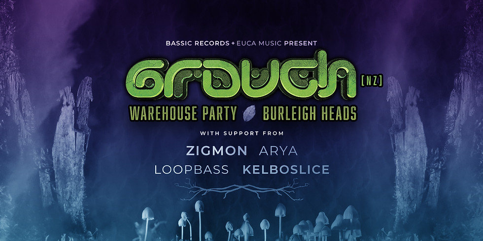 Bassic Records & Euca Music presents GROUCH [NZ]