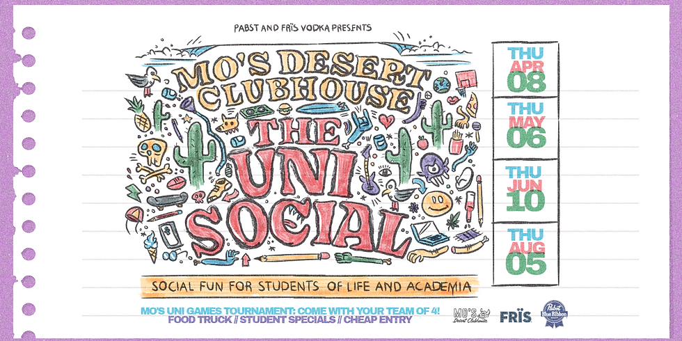 *SOLD OUT* THE UNI SOCIAL