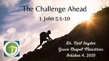 The Challenge Ahead
