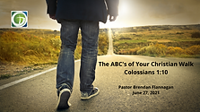 The ABC's of Your Christian Walk