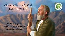 Gideon - Chosen By God
