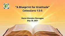 A Blueprint for Gratitude