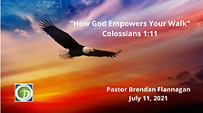 How God Empowers Your Walk