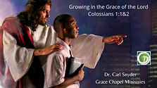 Growing in the Grace of God