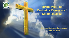 Trademarks of Christian Character