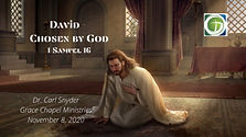 David - Chosen By God