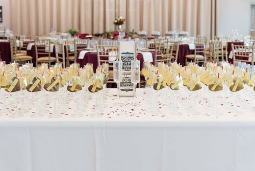 Champagne Toast Table