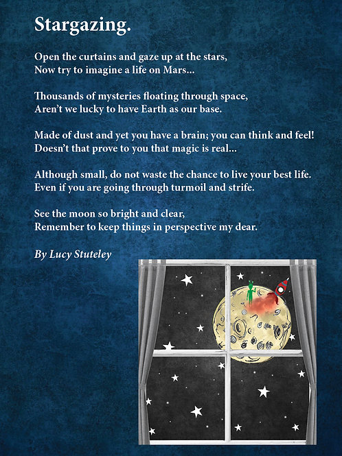 """Stargazing"" Postcard"