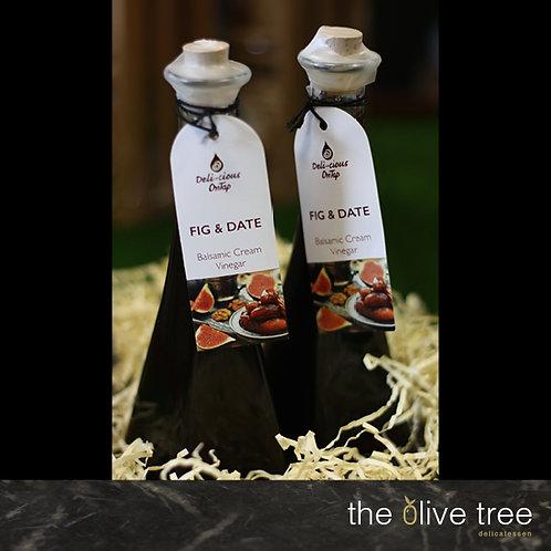 Fig and Date Balsamic Cream Vinegar