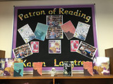 Patrons of Reading school library honours Karen's work