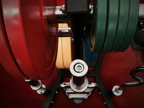 Olympic weights, with Barbell, dumbell, curl bar and tricep bar