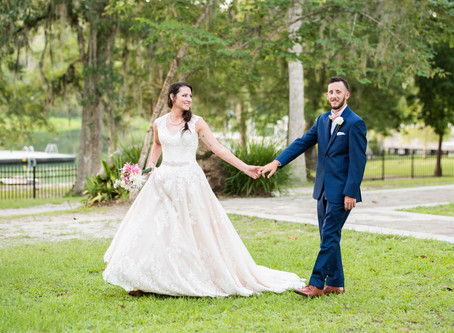 Kayla + Raines at Wakulla Springs Lodge