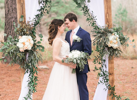 Destiny and Jake - Loblolly Rise Plantation