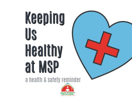 Keeping Us Healthy at MSP