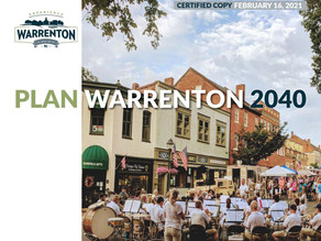 What the Warrenton Comp Plan Means for You
