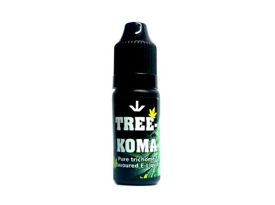 """TreeKoma"" Cannabis E-Liquid"