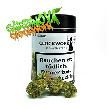Gardinova Clockwork 12g. CBD Blüten (inkl. Rustschale)