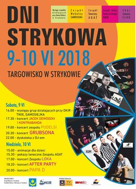 Zapraszamy w sobotę 9 czerwca do Strykowa na godzinę 19:00.