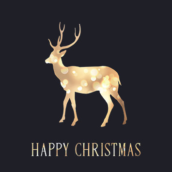 Glistening Reindeer