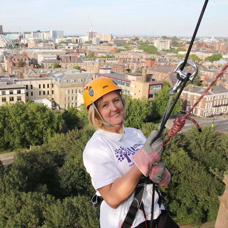 Abseil Liverpool's Anglican Cathedral