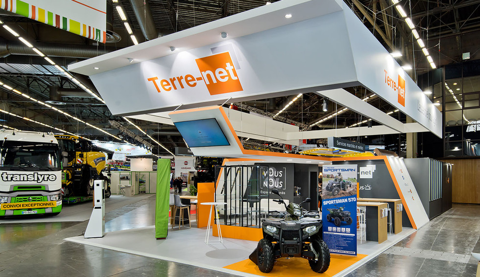 STAND TERRE-NET
