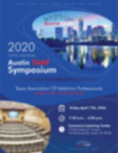 TAAP Symposium - 2020 Save The Date - Fl
