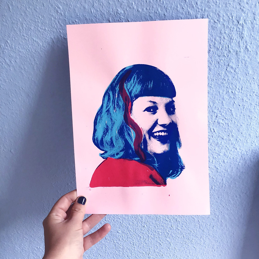 Workshop zeefdrukken a la Warhol