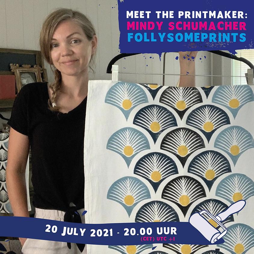 Meet the printmaker: Mindy Schumacher (Engels)