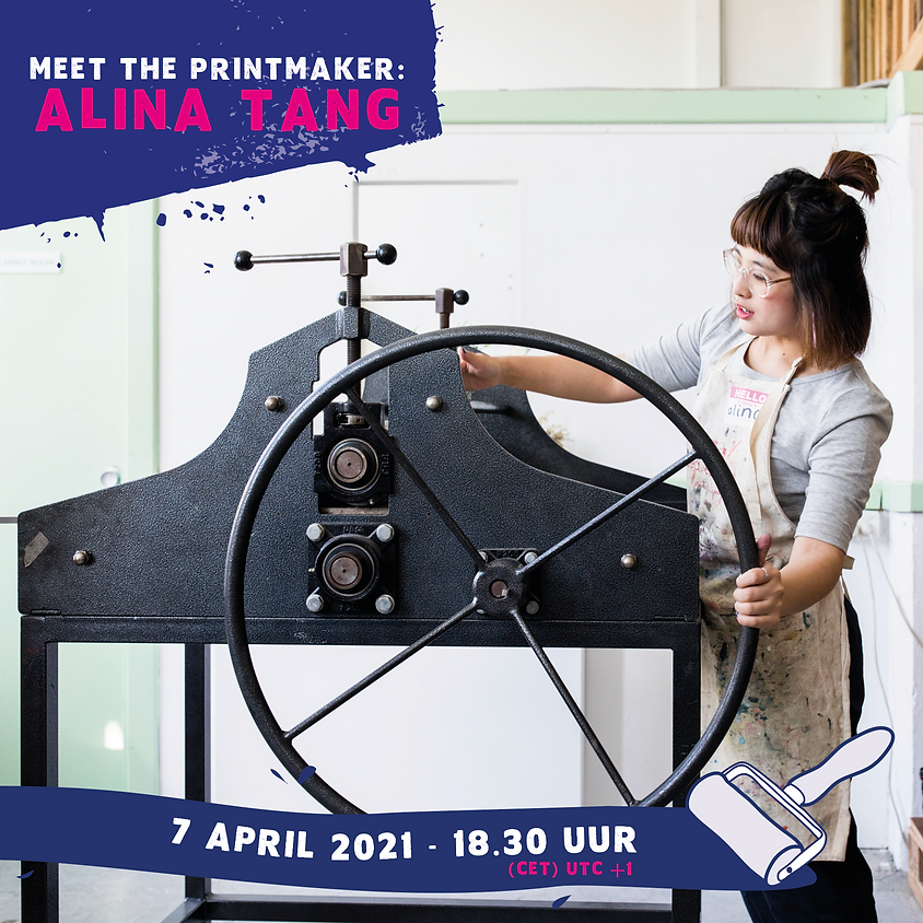 Meet the printmaker: Alina Tang (Engels)