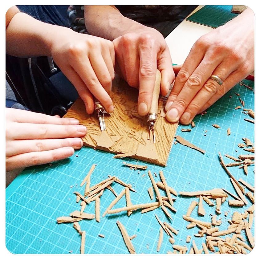 Workshop linosnijden