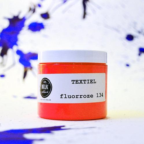 Neon/fluor zeefdrukinkt voor op textiel