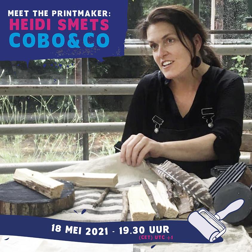 Meet the printmaker: Heidi Smets -> Cobo&Co (Engels)