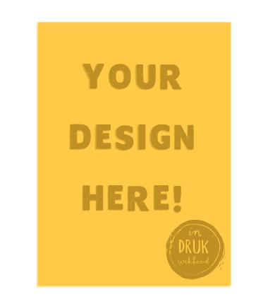 Voorbelichte fotopolymeerplaat met jouw ontwerp!