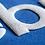 Thumbnail: zeefdruk medium unipuff voor op textiel