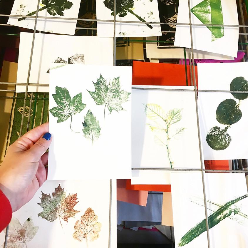 Botanisch drukken en meer @ Creative Life (2)