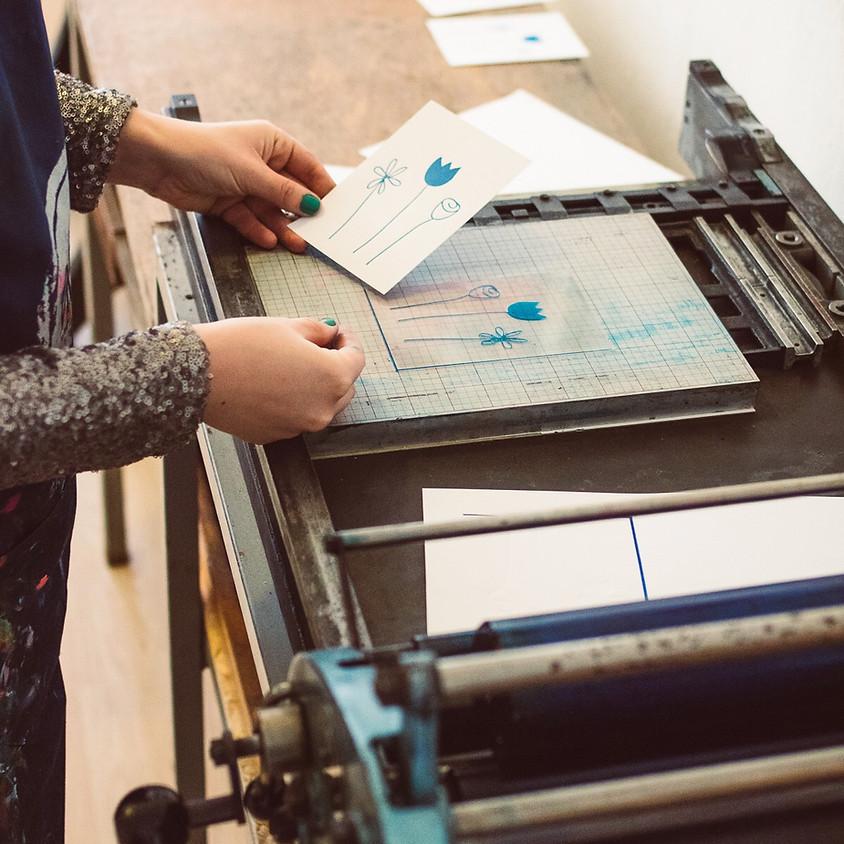 Workshop letterpress