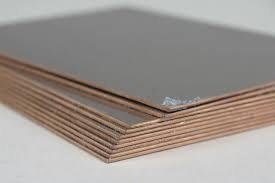 Koperplaat, etsplaat 12x9cm