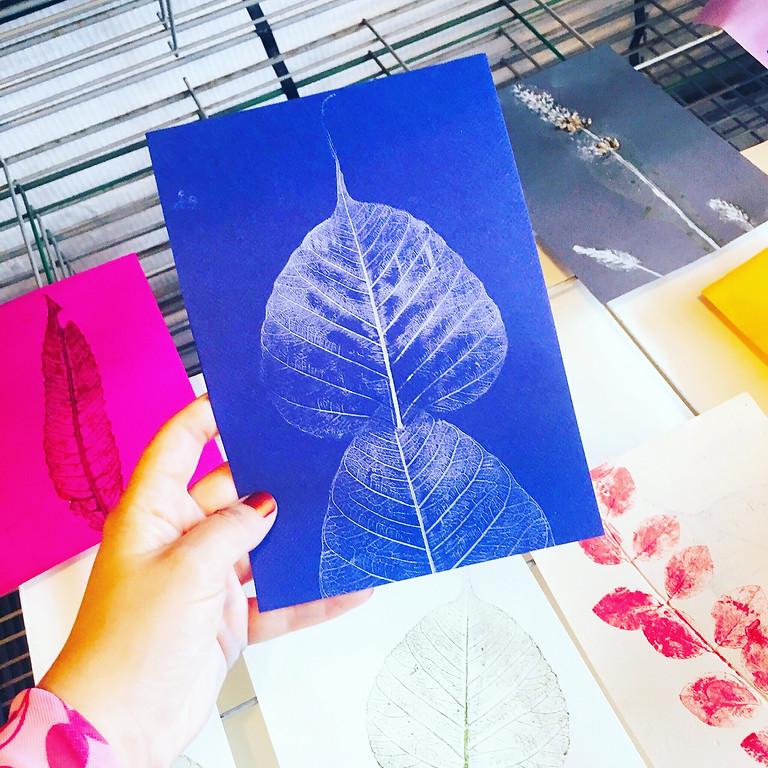 Workshop botanisch drukken en meer...