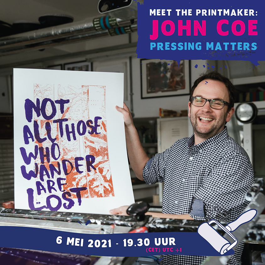 Meet the printmaker: John Coe -> Pressing matters (In English)  (1)